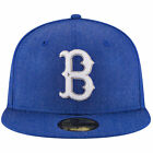 New Era Brooklyn Dodgers Heather Crisp Cooperstown Collection Fitted Hat