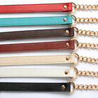 Replacement Chain&PU Leather Shoulder Crossbody Strap for Bag Handbag Purse 47""