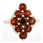 Garnet 3.70 Ct Natural Gemstone Ring In 925 Sterling Silver Jewelry