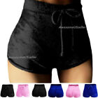 USA Women Shorts High Waist Sports Short Workout Pants Running Gym Yoga Fitness