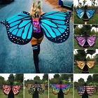 1x colorful Butterfly Fairy Angel Wings Halloween Dress  Costume Party 146*65cm