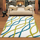 LARGE Fluffy SOFT Floor AREA SHAG SHAGGY RUGS CARPETS MATS in 290 x 200 cm