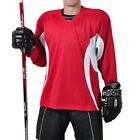 Firstar Arena 2 Color Hockey Jersey         Red & White