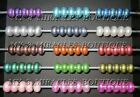 Wholesale European Style Charms PEARLIZED BEADS Pearls ACRYLIC for Bracelet DIY