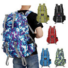 50L Outdoor Backpack Hiking Bag Camping Travel Waterproof Mountaineering Pack