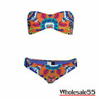 Trina Turk Tapestry Bandeau Top and Hipster Bottom Set NWT CH81CH93