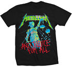 Metallica: And Justice For All T-Shirt  Free Shipping
