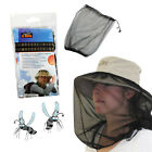 MOSQUITO MIDGE INSTECT FLY BUG NET HAT FACE PROTECTOR CAMPING TRAVEL LIGHTWEIGHT