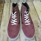 Vans Ladies Hi Top Trainers Wine sizes 7 (3246078/116 loc 40) #