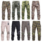 Tactical Pants With Knee Pads Army military Ripstop Combat Camo Trousers for Men