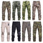 Tactical Pants With Knee Pads Army military Ripstop Combat Camo Trousers for MenTactical Clothing - 177896