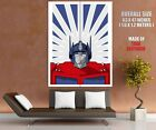 Optimus Prime G1 Transformers Generation 1 Art HUGE GIANT PRINT POSTER - Time Remaining: 1 day 23 hours 12 minutes 40 seconds