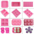 Fashion DIY Creative Silicone Ice Candy Chocolate Cake Cookie Soap Candle Mould