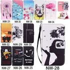 Phone Wallet Flip PU Leather Case Cover For iPhone 4 SE 5C 5S 6 6S Plus Samsung