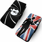Spy Designs Printed Faux Leather Flip Phone Cover Case Bond Parody Inspired #1 £9.65 GBP