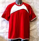 HUMMEL GRASSROOTS S/S POLY JERSEY RED/WHITE ADULT LARGE RRP £11.