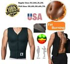 Sauna Sweat Shirt US Men Belly Slimming Corset 100%  Authentic Neoprene 2.5 mm