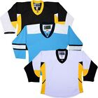 Team Lot/Set 10 PITTSBURGH PENGUINS Hockey Jerseys BLANK or With NAME & NUMBER