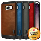For Samsung Galaxy S8/S8 Plus | Ringke [FLEX S] Leather Style Shockproof Case