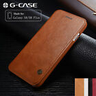 Original G-case Slim Leather Wallet Card Case Flip Cover For Samsung S8 /S8 Plus