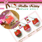 Rare* Hello Kitty Chocolate Dipped Strawberry Squishy (licensed)