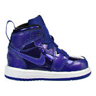 Jordan 1 Retro High BT Toddler's Shoes Deep Royal Blue/Black/White 705304-420