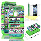 Tribal Aztec Hybrid Hard Protective Tuff Case Cover For Apple iPhone SE 5S 5