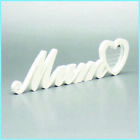 MUM Plaque Sign Letters Plastic not Wooden Anniversary Wedding Birthday Gift