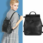 Convertible Small Real Leather Backpack Rucksack Crossbody Shoulder Bag Purse