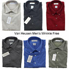 New Van Heusen Men's Wrinkle Free Button Down Long Sleeve Dress Shirt 14 1/2-22