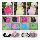 Sweet Dress Various Pet Puppy Small Dog Cat Pet Camouflage Clothes Vest Apparel