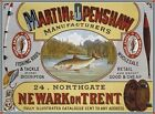 MARTIN OPENSHAW FISHING RODS TACKLE ANGLER FISHERMAN FISH METAL SIGN PLAQUE 463