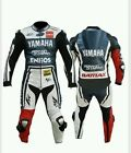 QMUK Yamaha Moto GP MotorBike 2Pc Suit - CE Proved Full Protection