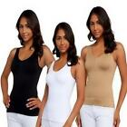 Womens Body Shaper Genie Bra Shaper Underwear Tank Top Slimming Cami Vest Corset