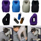 Inflatable Air Filled Airplane Cushion Neck Comfortable Support Pillow Travel BO