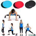 2 * Fitness Gliders Slide Discs Core Sliders Workout Gym Exercise Training