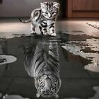 3D DIY Diamond Embroidery Painting Animals Of Cat To Tiger Home Decoration UU