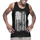 American Flag White - USA Pride Americana 4th of July Patriotic Tank T-Shirt image
