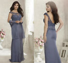 Lace Plus Size Mother Of The Bride Dresses Long Evening Formal Party Gowns HD276