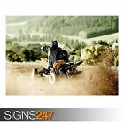ATV RIDE (AC037) ATV POSTER - Photo Picture Poster Print Art A0 A1 A2 A3 A4