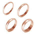 14K Rose Gold 2MM 3MM 4MM 5MM Comfort Fit Men Women Wedding Band Ring $945.52