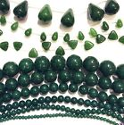 Buy 1 get 1 FREE - Mountain Jade Bead DIY Semi Precious Gemstone Jewel - Green