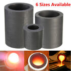 6 Size Pure Graphite Crucible Cup Propane Torch Melting Gold Silver Metal Copper