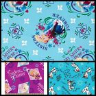 Disney Cartoon Frozen Olaf Elsa Anna Quilting Comic Cotton Fabric ONE YARD PIECE