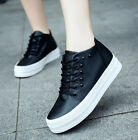 New Women's shoes Fashion Casual Leather Shoe Casual Sneakers Shoes