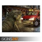 FIAT CREATIVE (AD724) FUNNY POSTER - Photo Picture Poster Print Art A0 to A4