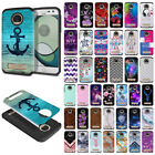 google play rolling stones - For Motorola Moto Z Play Droid XT1635 Hybrid Fusion Rubber Silicone Case Cover