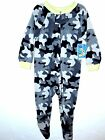 MON PETIT - Size 12, 24 Month Toddler Boys 1 Pc Sleepwea-Camouflage-Crazy-Comfy