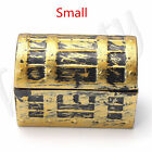 3 Size Mini Treasure Chest  Gift Case Holder Storage Box Vintage Pirate Jewelry