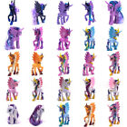 "My Little Pony Figure Doll 3-8"" Hasbro Princess Luna Celes Rainbow Dush Kid Toys"